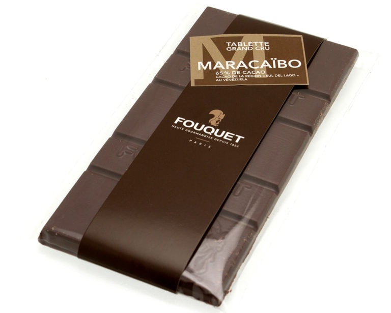 Maracaibo_noir_tablette_chocolat_Fouquet - tablettes - Paris confiseur Fouquet chocolatier