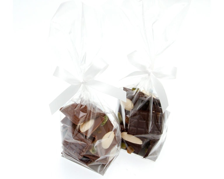 Sachet de mendiants - petites attentions - Paris confiseur Fouquet chocolatier